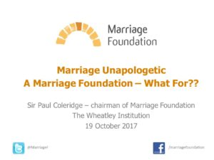 Marriage Unapologetic